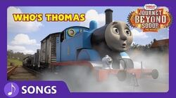 Who's Thomas Journey Beyond Sodor Thomas & Friends