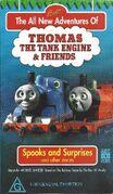 Spooks and Surprises Australian VHS Front Cover 2