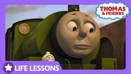 Percy Bumped the Livestock Wagon Life Lesson Taking Your Time