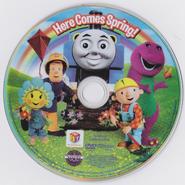 HitFavoritesHereComesSpring!DVDdisc