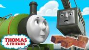 Thomas & Percy Learn Why It's Good to Clean Up