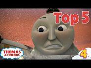 Thomas & Friends UK - Top 5 Silliest Expressions! - Best of Thomas Highlights - Kids Cartoon