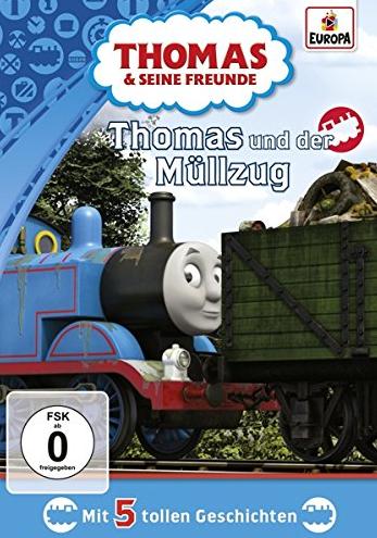 Thomas and the Rubbish Train (German DVD)
