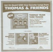 Thomas'trainyardtracksadvertisement