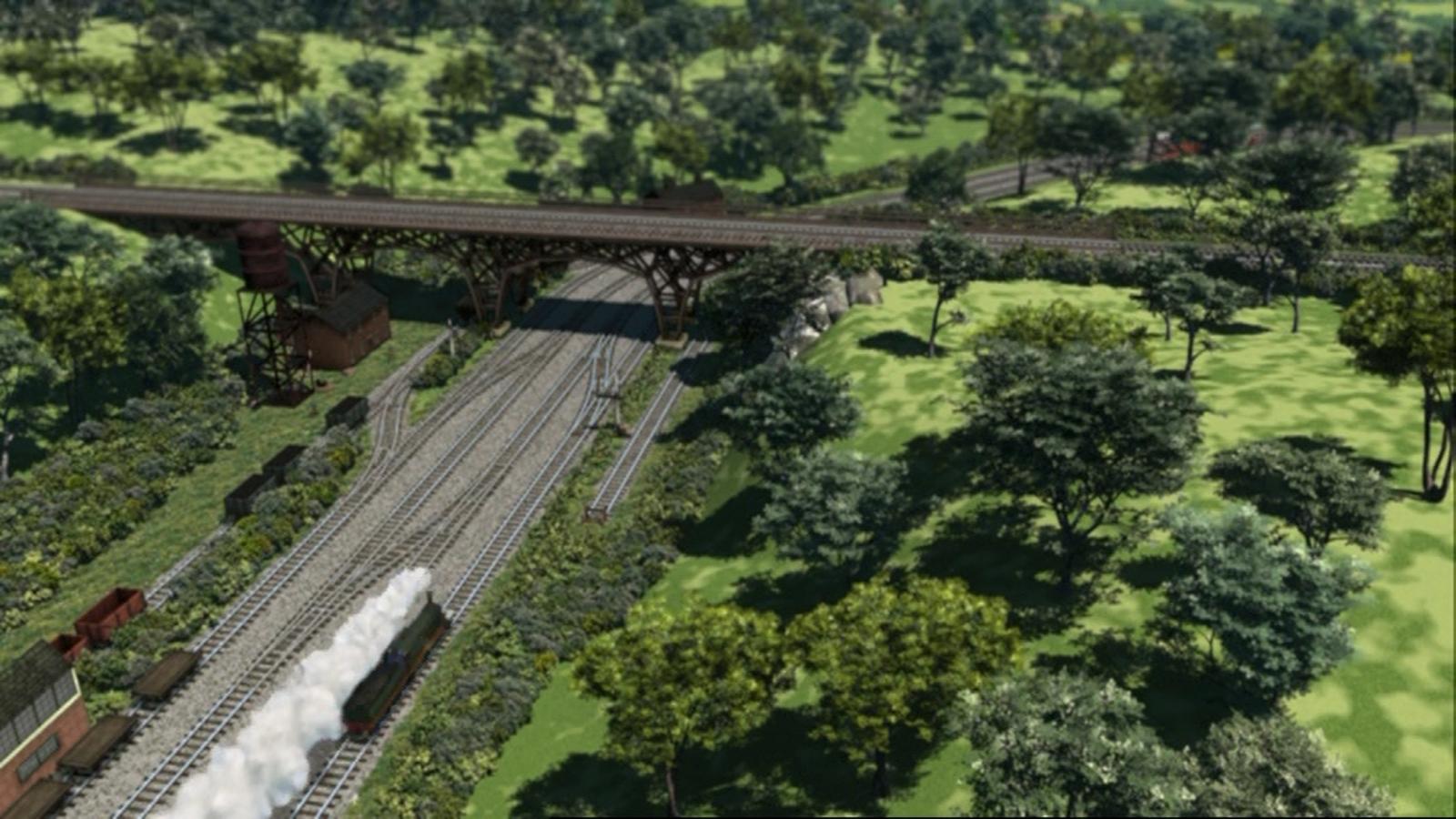 Knapford Iron Bridge