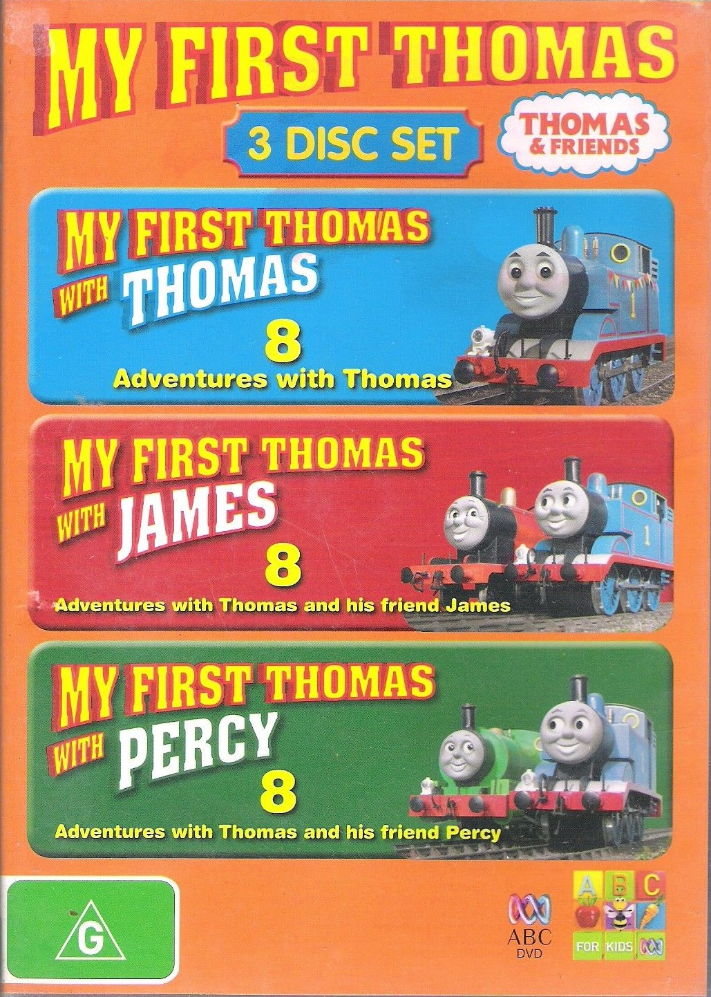 My First Thomas (3 Disc Set)