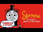Thomas & Friends™ - Story of James the Funny Engine - NEW - Story Time - Podcast for Kids
