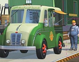 Sodor Food and Drink Van