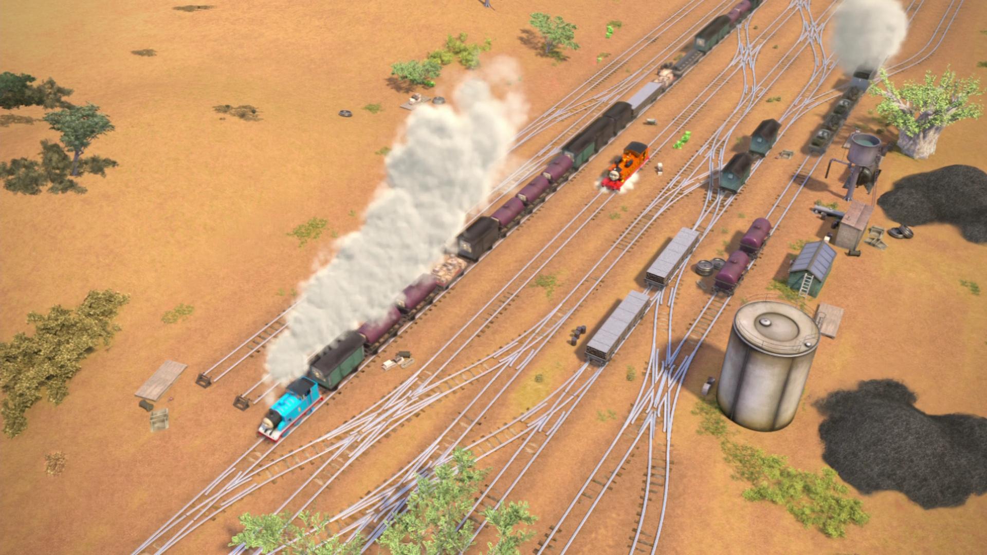 Kenyan Railway Shunting Yard