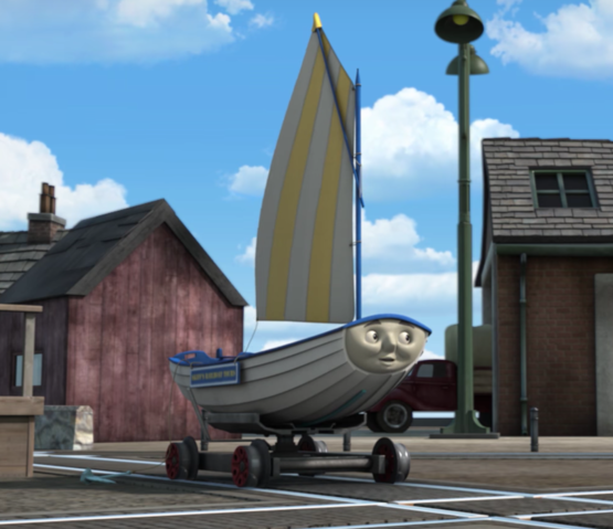 Skiff and the Grumpy Barge