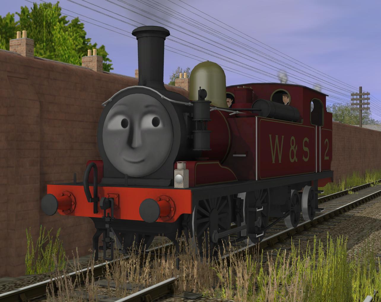 Lily ('LSWR O2 class' Tank Engine)