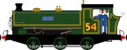 Julie the Saddle Tank Engine2