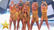 The MerseyGirls emotional reunion with Simon Cowell BGT The Champions