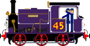 Charlie the Playful Purple Engine