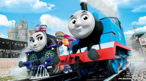 A Tank Engine's New Shed