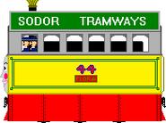 Flora the Steam Tram Engine