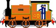 Billy the Orange Tank Engine2