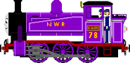 Kairi the New Purple Tank Engine