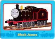 James(Black Livery)TradingCard