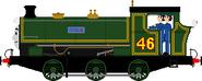 Julie the Saddle Tank Engine3
