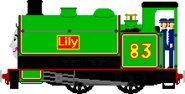 Lily the Small Timber Tank Engine