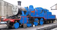 Alain the br class 02 engine in real life