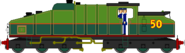 Gator the Steam Motor Engine