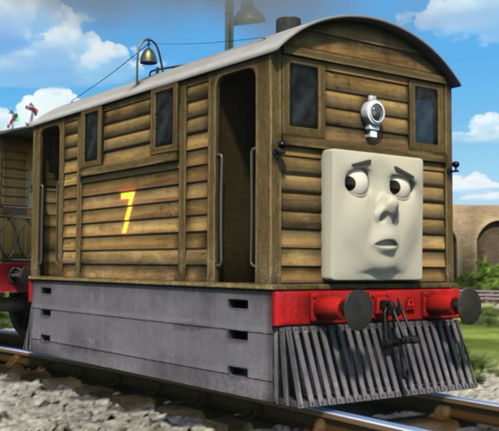 Toby and the Stout Gentleman (Made Up Story Series Style)