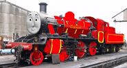 Steven the br class 02 engine in real life