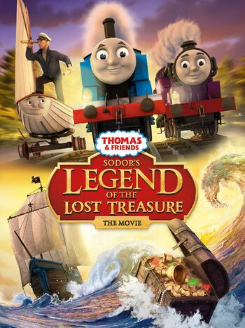 Sodor's Legend of The Lost Treasure (Made Up Story Series Style)
