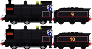Donald and Douglas the Scottish Twin Engines