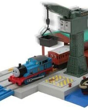 Details about  /Plarail Thomas the Tank Engine Cranky/'s Big Harbor