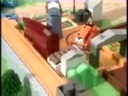 Plarail 2002 Thomas and Terence Deluxe Action set (Thomas at the Timber Yard set) commercial
