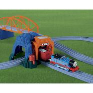 TrackMaster(Fisher-Price)BlueMountainGravelDelivery2