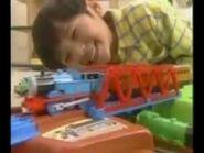 Plarail Thomas the Tank Engine Go Out 3D Bag commercial