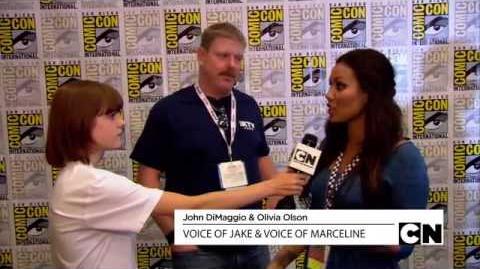 Chanelle entrevista criadores e elenco de Adventure Time