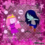 Marceline e princesa jujub