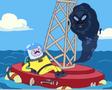 Fear Feaster on buoy