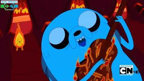 Hora de Aventura - Musica do Jake Episodio Incendio