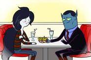Marceline e seu pai