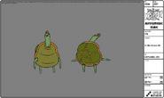 Modelsheet turtleperson6