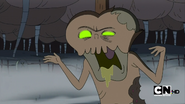 S1e1 candy zombie close up