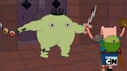 Finn batalhando