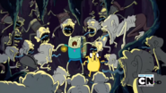 S2e9 finn and jake attacked by chud