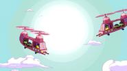 Helicópteros Doces