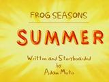 Temporada de Sapo: Verão