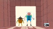 Finn e jake lutando