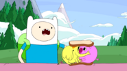 S4e4 treetrunks and pig kissing onsandwich