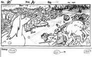 Horse and Ball storyboard