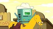 Hora De Aventura - Robô Cowboy (Angel Face) -HD-